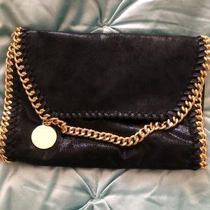 Handbags - Black & Gold chain purse